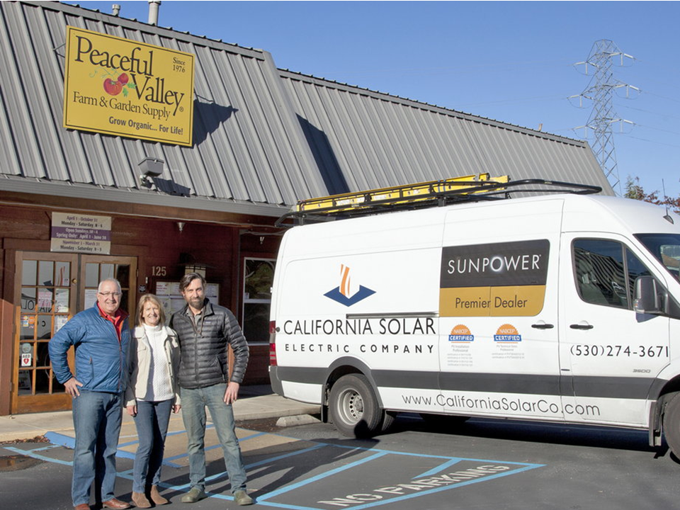California Solar Grass Valley Ca Becoming Employee Owned
